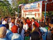 Taruna Merah Putih Kota Tangerang Menggelar Pertandingan Sepak Bola Ibu-Ibu di Pasirjaya