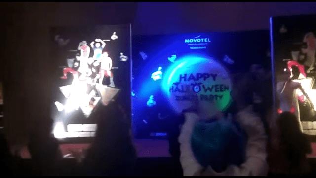 Pesta hellowen dikota tangerang