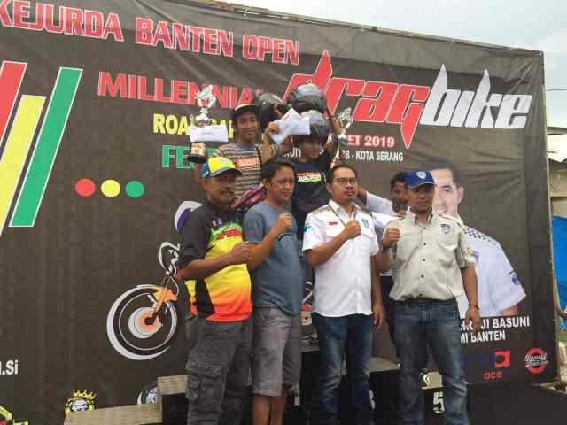 Ini Hasil Lengkap Juara Drag Bike Piala Kapolda Banten 2019