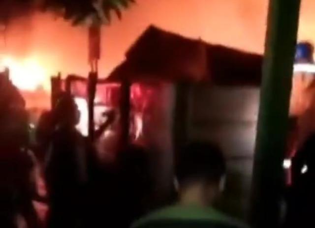 Petasan Jadi Penyebab Kebakaran di Tangsel