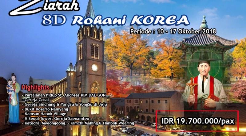 8 Hari ZIARAH KATHOLIK ke KOREA