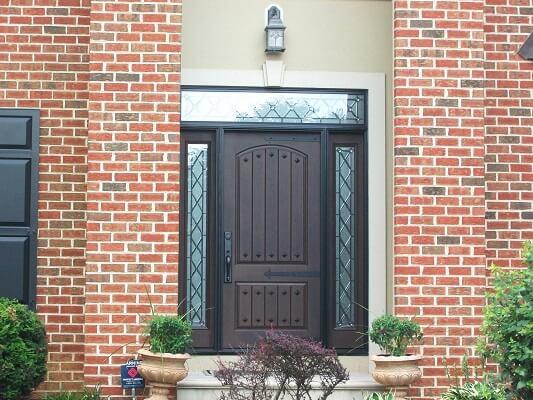 New Fiberglass Entry Door With High End Look