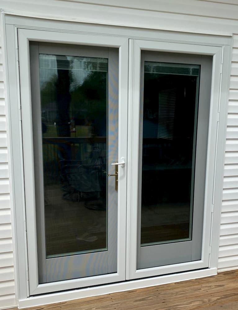 hinged french patio doors update