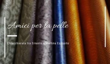 """""""Amici per la Pelle"""": Ernesto e Martina Esposito"""