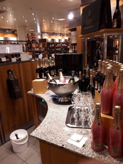 Champagnebaren på KaDeWe