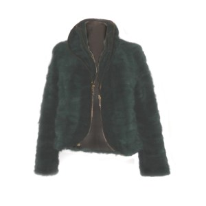 Colored Mink jacket