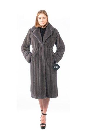Cappotto in Visone grigio