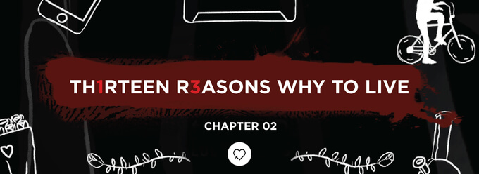 Th1rteen R3asons Why To Live: Chapter 02