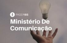 #PADD165: Ministério De Comunicação