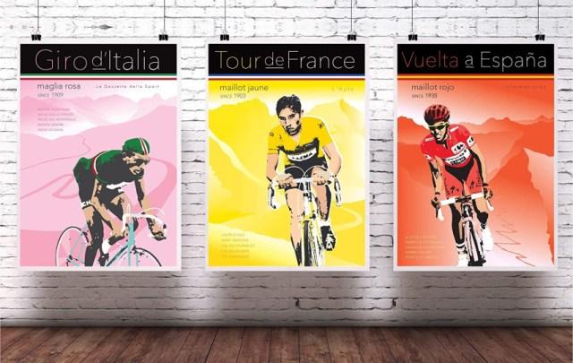 Giro, Tour e Vuelta, as Grandes Voltas do Ciclismo
