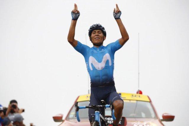 Nairo Quintana vence etapa fantástica no Tour de France