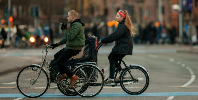 Copenhague atinge marca de 5x mais bicicletas que carros