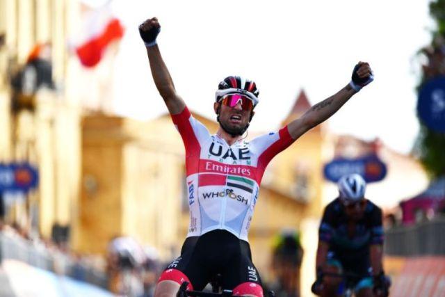 Diego Ulissi vence no Giro 2020 em  Agrigento