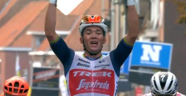 Mads pedersen venceu a Gent Wevelgem