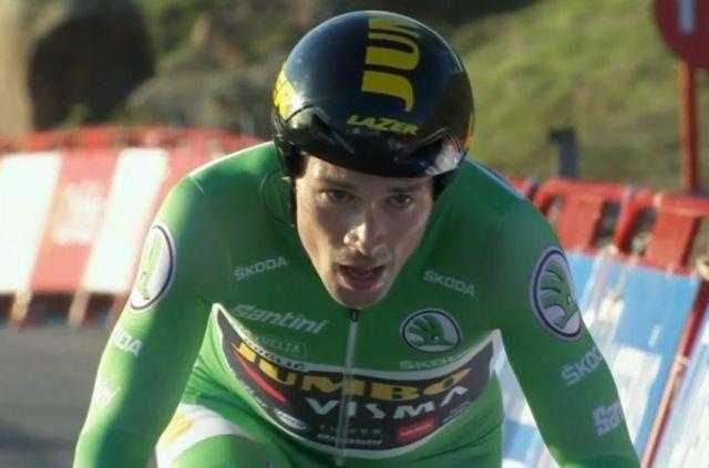 Roglic vence contra relógio e assume a liderança da Vuelta