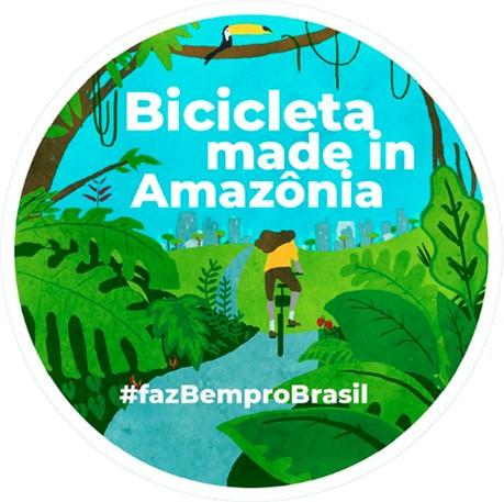 Bicicleta Faz bem Pro Brasil