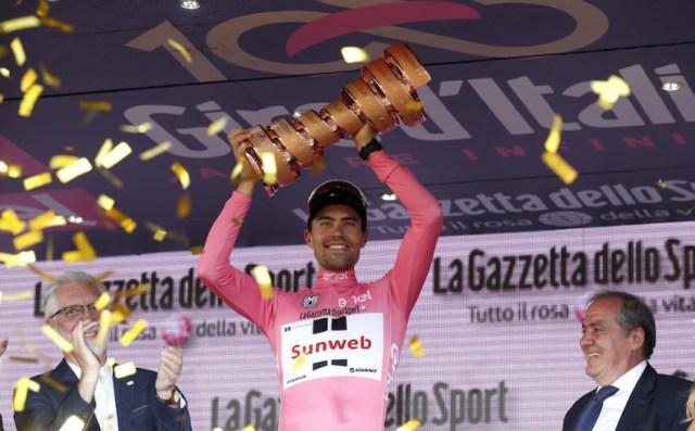 Tom Dumoulin vence Giro d'Italia | AP Photo/Antonio Calanni