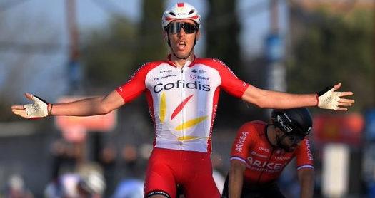Cofidis vence a primeira da temporada com Christophe Laporte