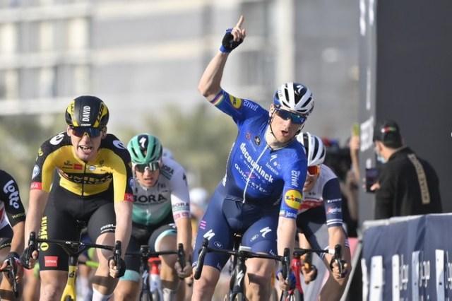 Sam Bennett vence no UAE Tour 2021 | Foto UAE Tour