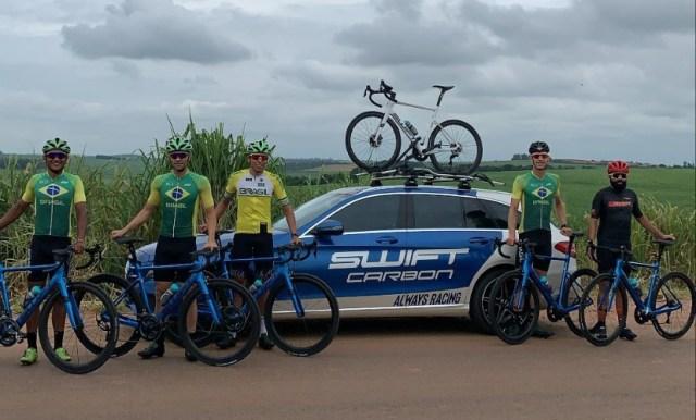 Swift Carbon Pro Cycling, a equipe de ciclismo da Sense Bike