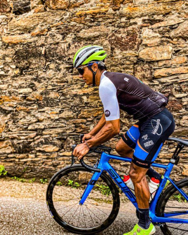 Alessandro Guimarães treina em estradas de Ouro Preto - MG | Foto Instagram