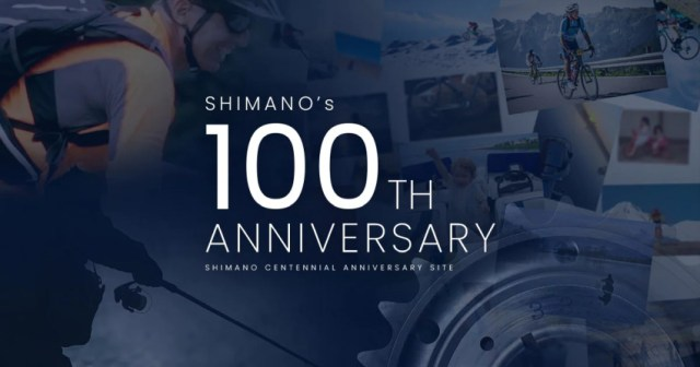 Shimano celebra 100 anos | pelote ciclismo