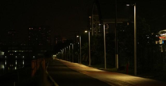 Ciclovia recebe iluminação Led em São Paulo | Foto Divulgação ENEL - Pelote Ciclismo