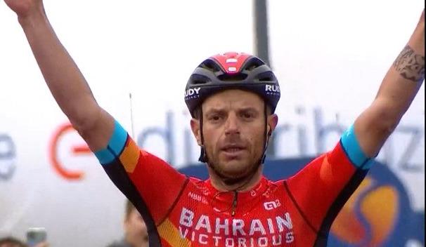 Damiano Caruso vence no Giro!