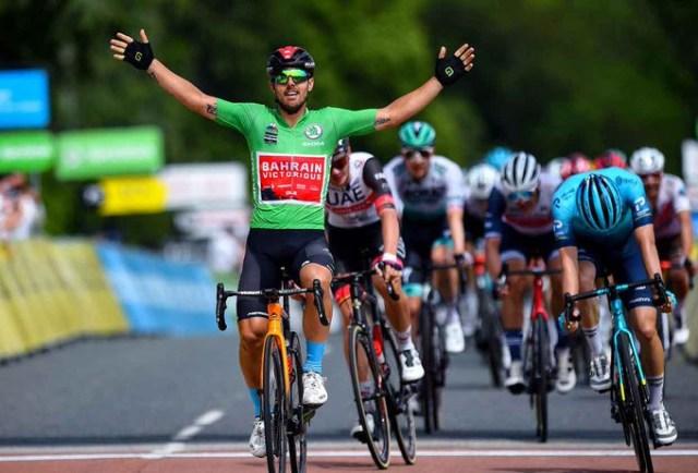 Sonny Colbrelli vence etapa no Dauphiné, Bora segue líder com Postlberger