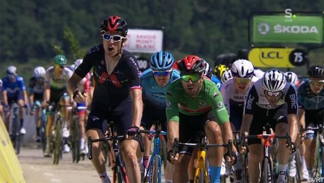 Geraint Thomas vence em chegada incrível no Dauphiné