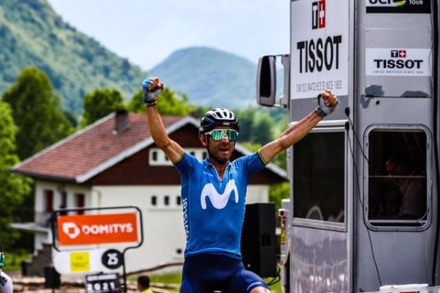 Valverde vence no Dauphiné e bate recorde!