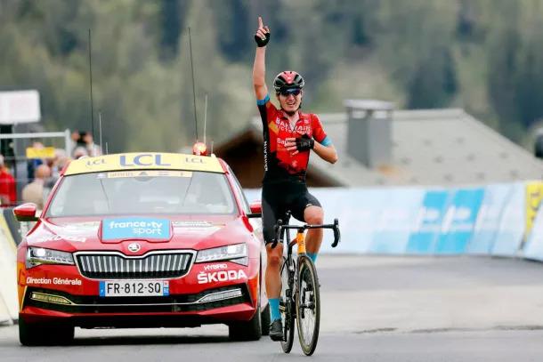 Mark Padun vence no Criterium du Dauphiné 2021 | Foto A.S.O.