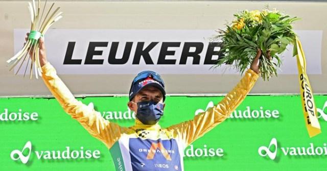 Richard Carapaz vence no Tour de Suisse | Foto PhotoNews