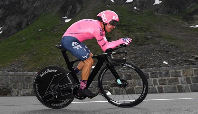 Rigoberto Uran vence etapa no Tour de Suisse | Foto Getty