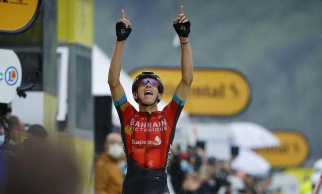 Dylan Teuns vence e Pogacar dá show e é o novo líder do Tour de France