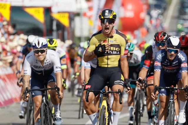 Dylan Groenewegen vence no Tour da Valônia | Foto @Belga