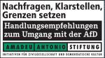 Amadeu Antonio Stiftung: Handlungsempfehlungen zum Umgang mit der AfD - pelzblog