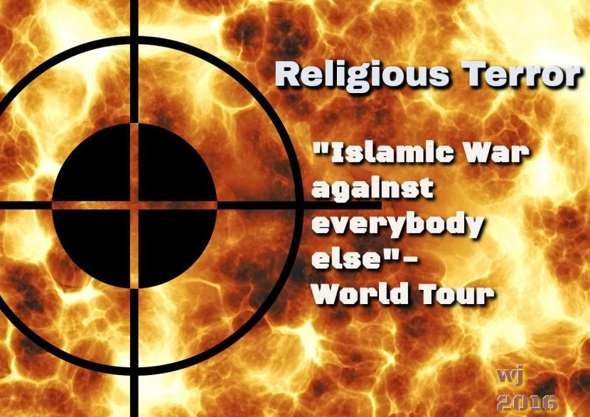 Islamic War on Everybody Else Tour - pelzblog