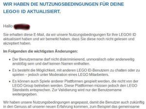 Lego-Benutzername