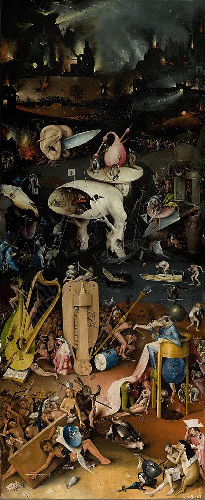 Hieronymus Bosch - Triptykon - Der Garten der Lüste - Hölle