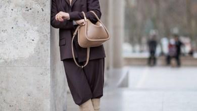2019 Kadın modası geniş paça pantolon ve çizme