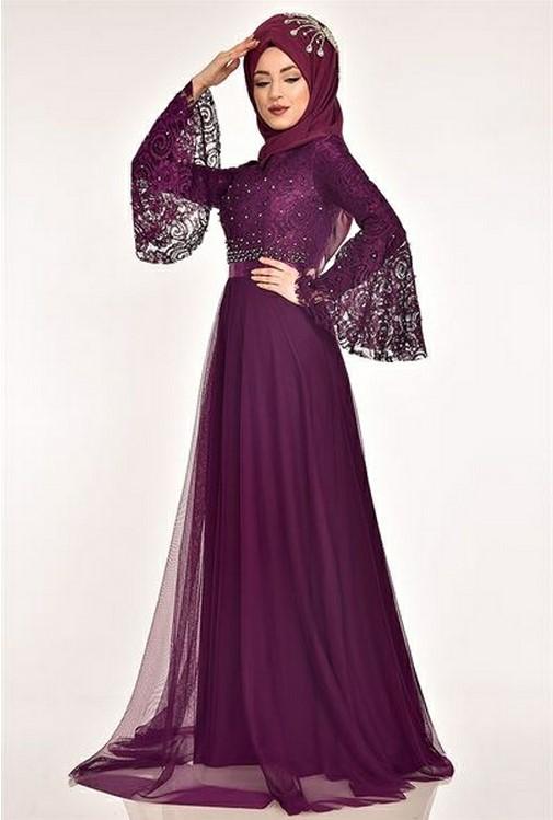 Dantel abiye elbise modelleri 2020
