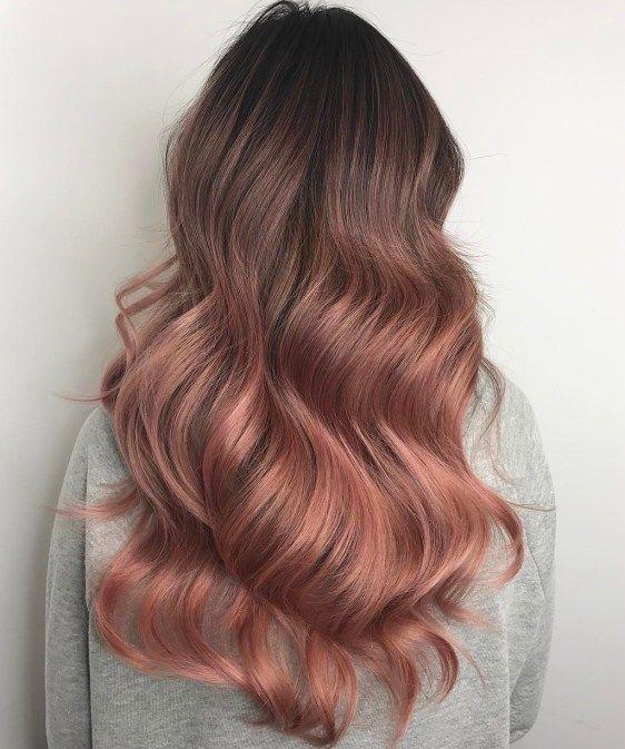 rose karamel saç rengi