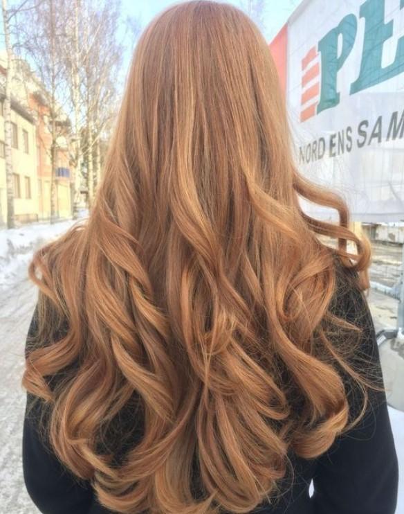 yoğun karamel saç rengi