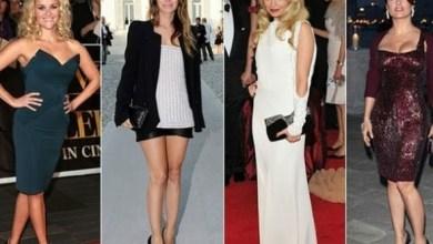Minyon Tipli Kadınlar İçin Elbise Modelleri