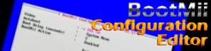 Permalink to:BootMii Config Editor
