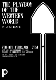 shovel poster with text .2 (flipped)