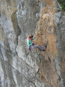 Climbing in the Pembrokeshire Coast National Park
