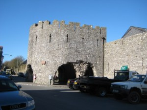 Tenby Town Walls and Five Arches in the Pembrokeshire Coast National Park