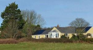 Holiday Cottage in Stackpole - rear view